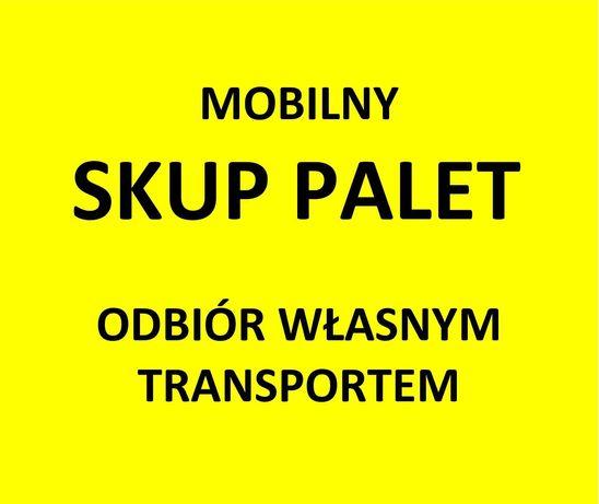 Mobilny SKUP PALET Pruszków, Warszawa i okolice.