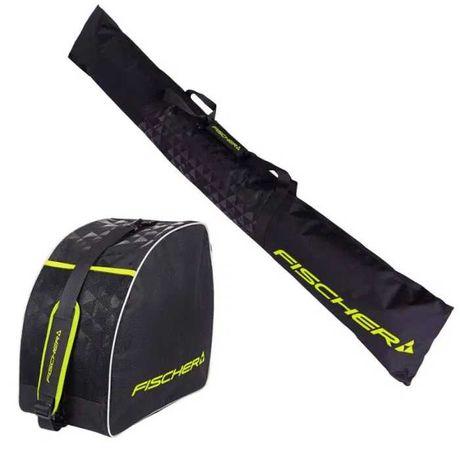 zestaw pokrowce torby torba na narty buty narciarskie FISCHER ALPINE