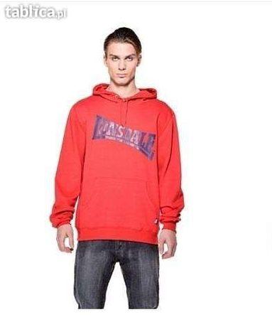Bluza męska czerwona LONSDALE nowa XL