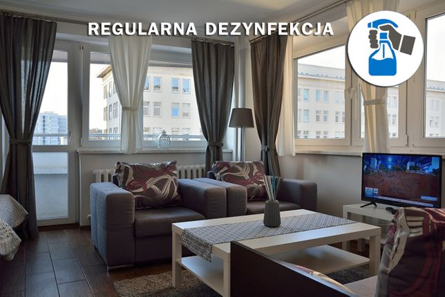 Apartamenty NA DOBY / KWARANTANNA / ODPOCZYNEK - Centrum Warszawy