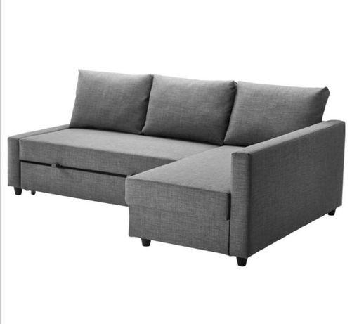 Sofa Narożnik Friheten IKEA szary stan bdb