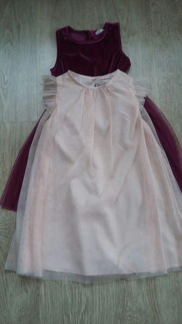Sukienka 116 komplet