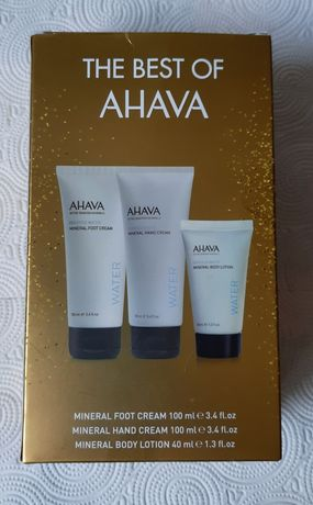 AHAVA Water - zestaw 3 mineralnych kosmetyków do ciała