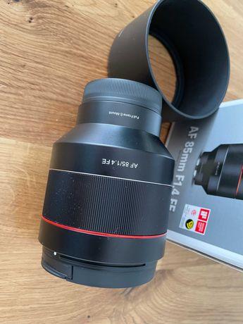 Samyang AF 85mm F1.4 FE Sony