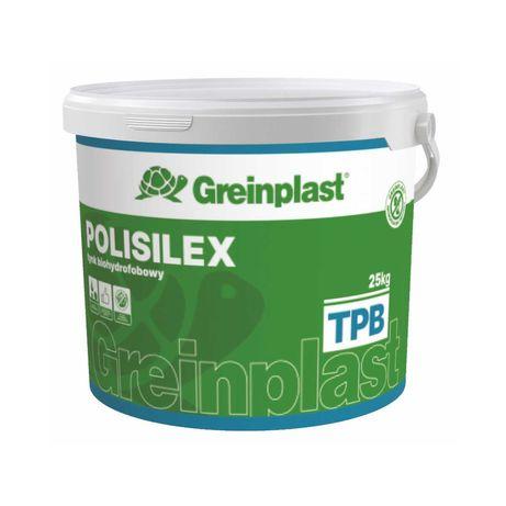 Tynk biohydrofobowy Polisilex Greinplast TPB 25Kg