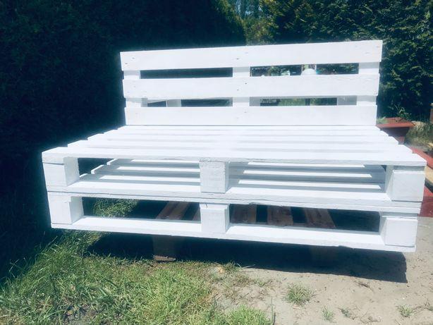 Kanapa z palet, kanapa ogrodowa, ławka ogrodowa
