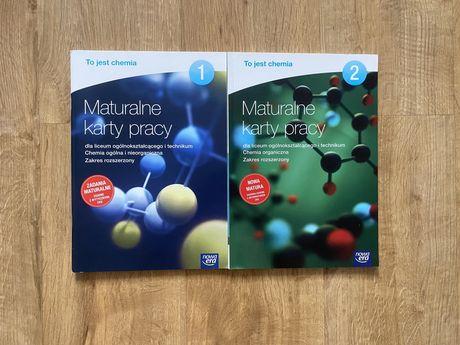 Maturalne karty pracy to jest chemia część 1 i 2