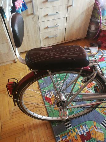 Sedzenie na bagażnik rowerowy + oparcia na stopy