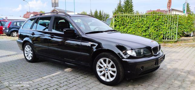 BMW 320i 170KM 2002r 250tys Półskóra Klima Alu Zamiana