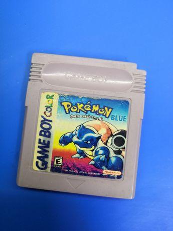 Game boy Pokemon Blue Nintendo