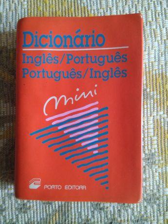 Англо-португальський, португало-англійський словник міні