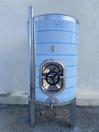 Cuba Inox 400 litros