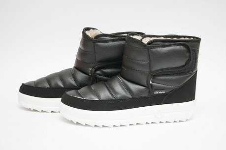 Женские ботинки зимние дутики бути