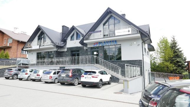 Budynek lokal użytkowy usługowo-handlowy 216m lub do podziału Mogilany