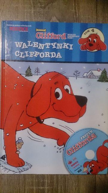 Książka o psie Walentynki Clifforda dla dzieci