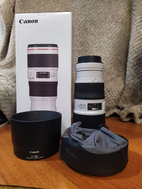 Продам объектив Canon EF 70-200 mm f/4L IS II USM