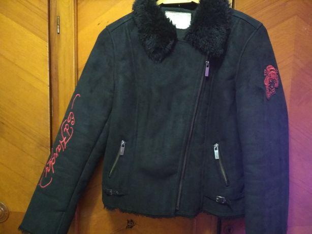 Куртка из замши Christian Andigier