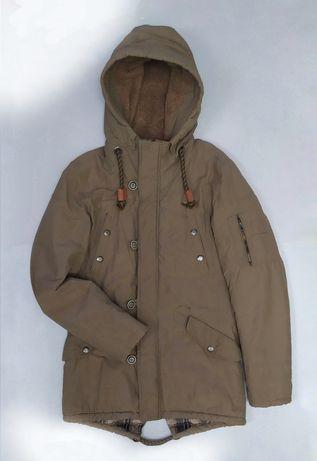 Мужская парка куртка пуховик