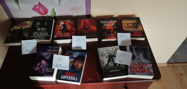 Książki - NOWE - komplety - Prezent - POLECAM