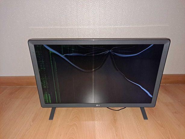 SmartTV Lg 24 polegadas para peças