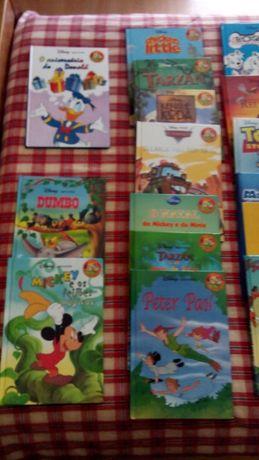 Livros - vários da Disney