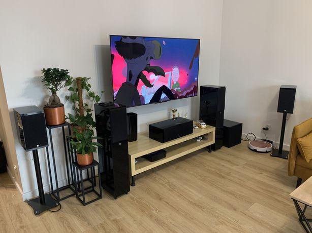 Kino domowe Audio Pro 5.1 Black Diamond, Black Pearl, Black Vector.