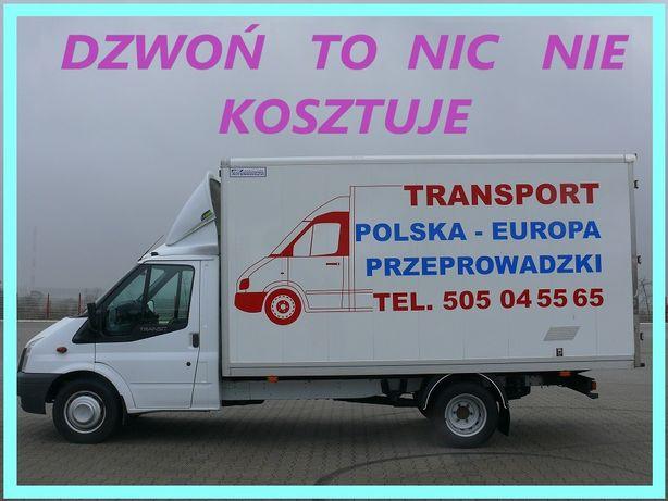 TRANSPORT TANIO LUBIN , przeprowadzki , transport AGATA