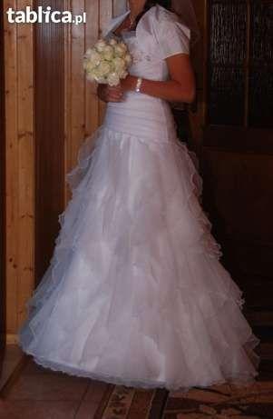 Bajeczna suknia ślubna r 38