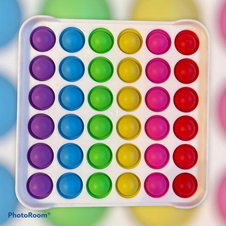 Квадрат Бубл Bubble toyPop it Simple Dimple Поп ит .Оптом