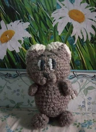 Игрушка Котика ручной работы как подарок на день влюбленных