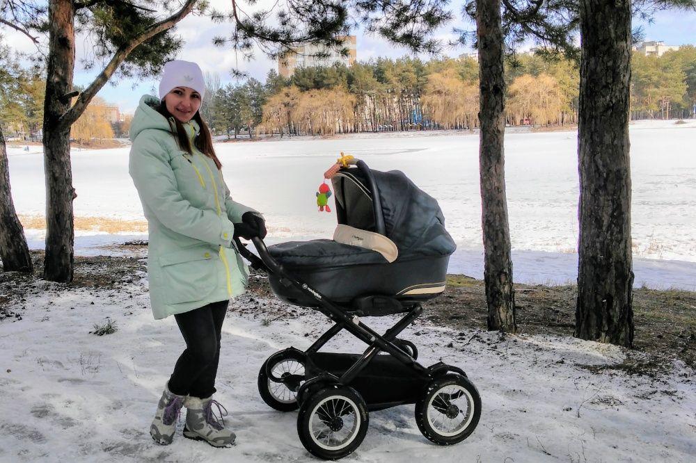 Классическая коляска Navington Galeon для новорожденного Комсомольское - изображение 1