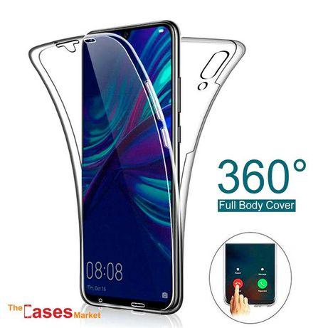 Capa silicone transparente 360 Huawei P Smart 2019