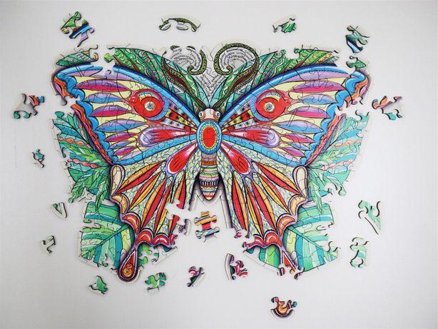 """Пазл дерев'яний """" метелик""""/ пазл деревянный/ головоломка/подарунок"""