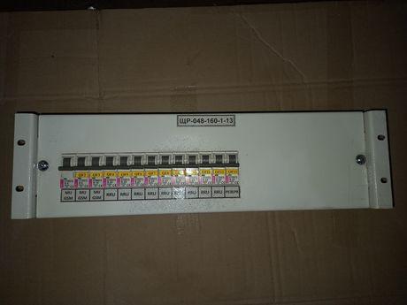 Щит распределительный панель питания 220В автомат ETI