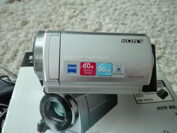 Sony dcr-sr58 Pełen komplet zamiana
