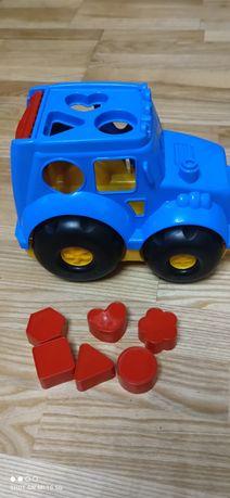 Сортер машинка развивающая игрушка