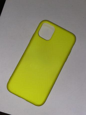 Capa Iphone 11 Verde fluorescente