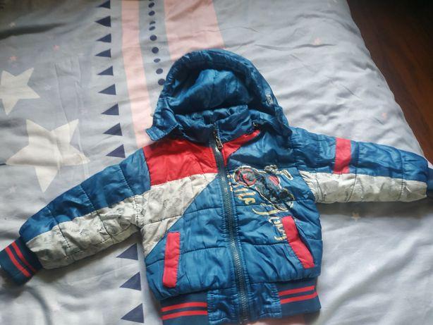 Куртка на мальчика 2-3 года 350 р