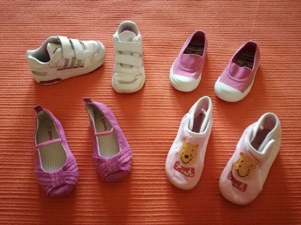 Lote Ténis/Pantufas/Sapatos, 25