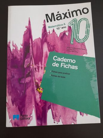 Caderno de fichas matemática 10°ano