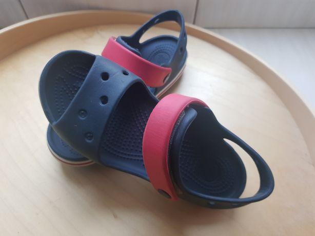 Sandały crocs rozmiar 30 dlugość wkladki 19cm