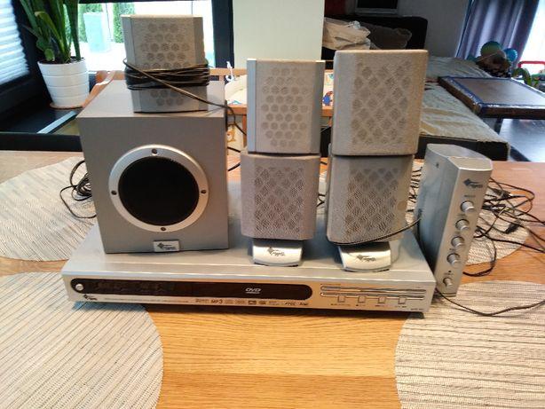 odtwarzacz DVD Manta+głośniki+kable