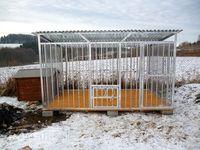 MOCNY Kojec dla psa NERO 3x2 profil ocynkowany producent kojce klatki