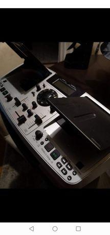 Portátil DJ station cd, e com rádio