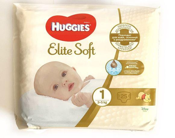 Подгузники Huggies Elite Soft 1 3-5 кг 25 шт