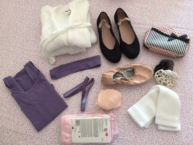 Ballet roupas