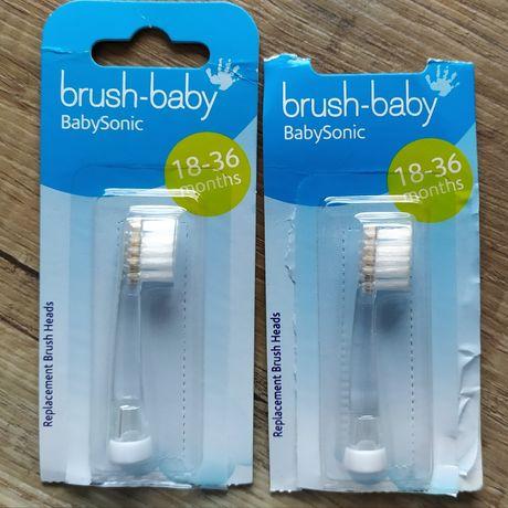 Brush-baby szczoteczki wymienne 18-36 miesięcy