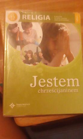 Podręcznik do religii oraz karty pracy do 4 klasy wyd. Św Wojcie