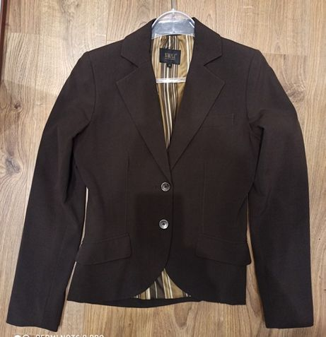 Marynarka i spodnie (spodnium) damski garnitur Simple r. 38