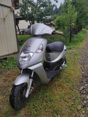Срочно продам скутер Dealim 50cc
